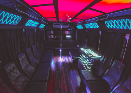 cheap party bus